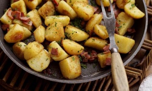 Секрет приготовления идеальной жареной картошки