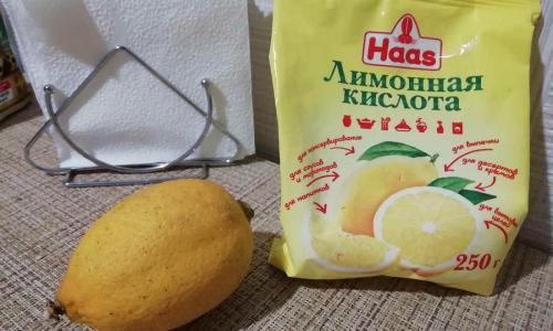 Лимонная кислота - универсальное чистящее средство для вашего дома
