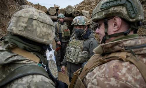 ЛНР обвинила Украину в минировании позиций в Донбассе