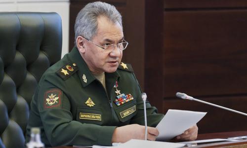 Шойгу сообщил о создании новой дивизии на юге России