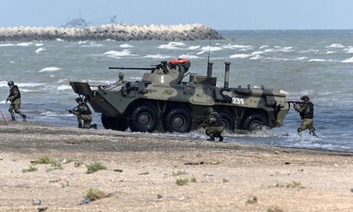 Россия начала масштабные военные учения в Крыму