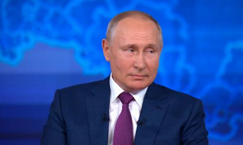 Путин рассказал, что делает человека счастливым